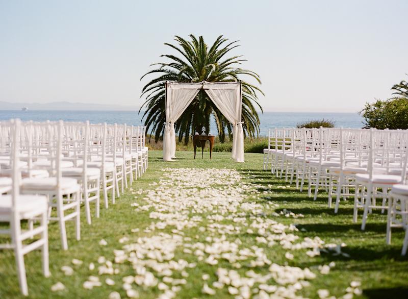 santa barbara wedding at bacara resort shannon jeff