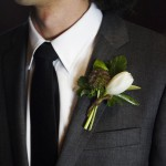 Groom's Boutonniere by Effloresce Floral
