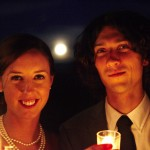 The Full Moon blessing this couple on their new journey.