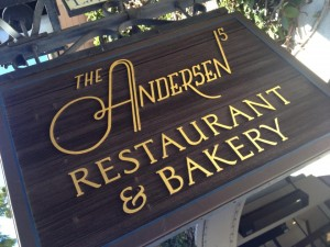 Tea in Paris Andersens Sign