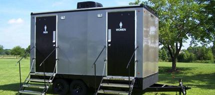 vip portarestroom trailer